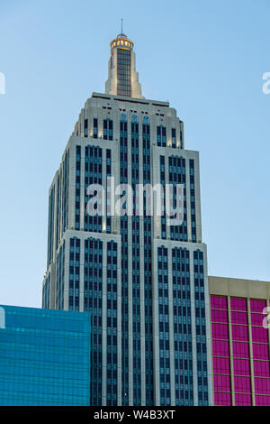 New York, New York Empire State Building Twilight - Stock Photo