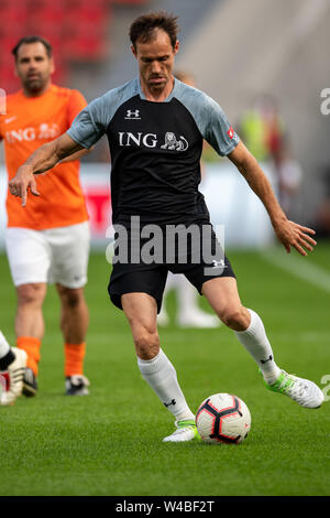 Leverkusen, Germany. 21st July, 2019. Soccer: Benefit soccer game 'Champions for Charity' in the BayArena. Credit: Marius Becker/dpa/Alamy Live News - Stock Photo