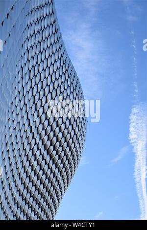 Birmingham Bullring architecture close up - Stock Photo