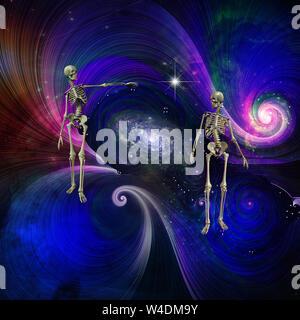 Skeletal Figures in Cosmos