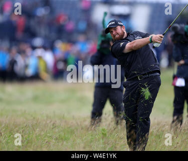 21st July, Portrush, Country Antrim, Northern Ireland; The 148th Open Golf Championship, Royal Portrush, final round; - Stock Photo