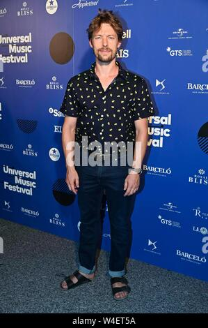 Madrid, Spain. 22nd July, 2019. 22/07/2019.- Concierto del cantante ingles James Cullum en el Teatro Real de Madrid. Fotos: Jan Clotet Photocall during Universal Music Festival 2019 in Madrid on Monday, 22 July 2019. Credit: CORDON PRESS/Alamy Live News - Stock Photo