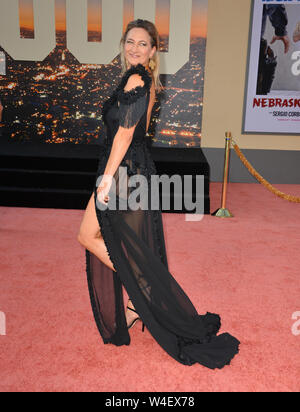 Los Angeles, USA. 22nd July, 2019. Zoe Bell at the premiere of 'Once Upon A Time In Hollywood' at the TCL Chinese Theatre. Credit: Paul Smith/Alamy Live News - Stock Photo