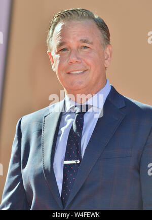 Los Angeles, USA. 22nd July, 2019. Spencer Garrett arrives at the Sony Pictures' 'Once Upon A Time.In Hollywood premiere at the TCL Chinese Theatre in Los Angeles on July 22, 2019 in Hollywood, California Credit: Tsuni/USA/Alamy Live News - Stock Photo