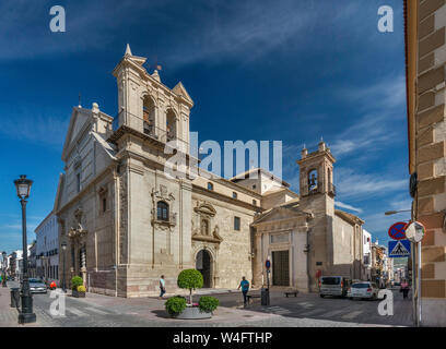 Iglesia de San Pedro Mártir in Lucena, Cordoba Province, Andalusia, Spain - Stock Photo