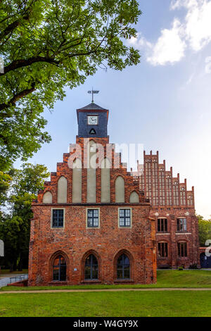 Zinna Abbey, Jueterbog, Germany - Stock Photo