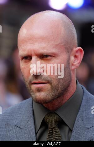 London, UK. 23rd July, 2019. Jason Statham attends a special screening of Fast and Furious Hobbs and Shaw at the Curzon Mayfair on Tuesday, Jul. 23, 2019 . Picture by Julie Edwards. Credit: Julie Edwards/Alamy Live News - Stock Photo