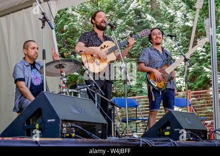 Nano Stern Trio, Vancouver Folk Music Festival, Vancouver, British Columbia, Canada