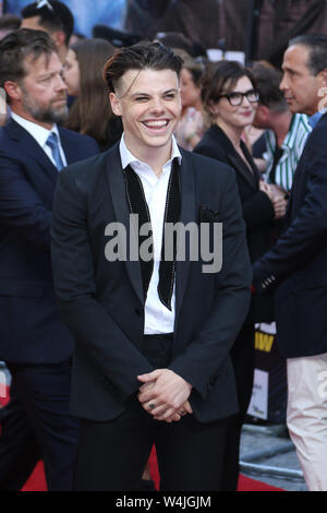 Yungblud, Fast & Furious Hobbs & Shaw - Special Screening, Curzon Mayfair, London, UK, 23 July 2019, Photo by Richard Goldschmidt - Stock Photo