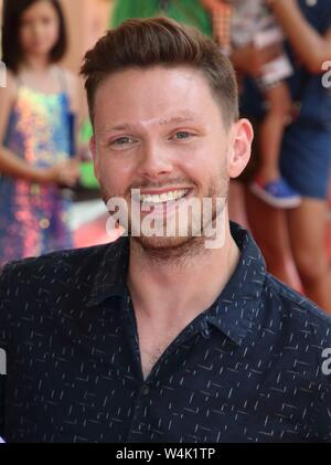 London, UK. 23rd July, 2019. Will Manning attends the Where is Peter Rabbit Press Day at Theatre Royal, Haymarket Credit: SOPA Images Limited/Alamy Live News - Stock Photo