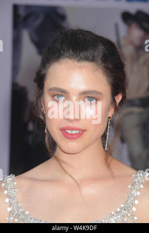 Los Angeles, USA. 22nd July, 2019. Margaret Qualley 07/22/2019 The Los Angeles Premiere of 'Once Upon A Time In Hollywood' held at the TCL Chinese Theatre in Los Angeles, CA Credit: Cronos/Alamy Live News - Stock Photo