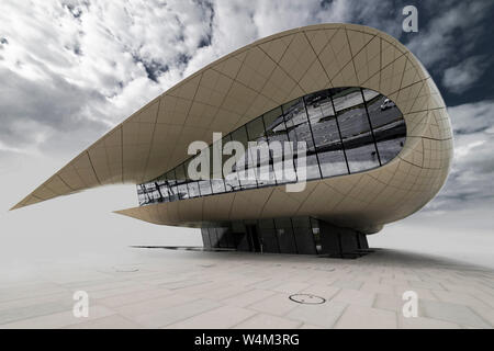 White Pavilion - Museum, Dubai, United Arab Emirates, Jan. 2018 - Stock Photo