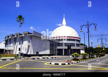The Royal Regalia Museum in Bandar Seri Begawan, Brunei Darussalam - Stock Photo