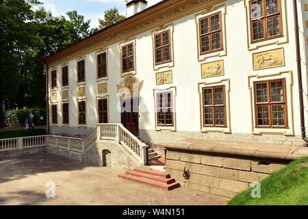 Summer Garden Palace XVIII century architecture - Stock Photo