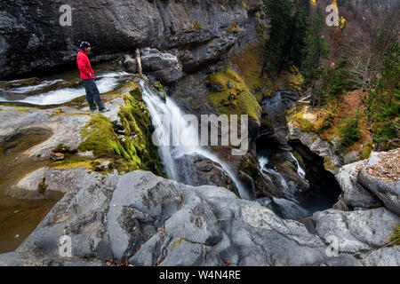 Ordesa y Monte Perdido National Park, Huesca, Spanish Pyrenees - Stock Photo