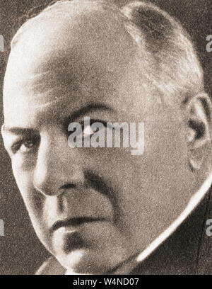Richard Burdon Haldane, 1st Viscount Haldane, 1856 – 1928.  Scottish Liberal and later Labour imperialist politician, lawyer and philosopher.  From The Pageant of the Century, published 1934. - Stock Photo