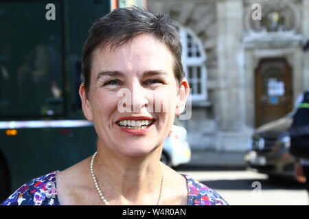 MARY CREAGH LABOUR MP FOR WAKEFIELD IN THE CITY OF WESTMINSTER ON 24TH JULY 2019. BRITISH POLITICIANS. UK POLITICS. LABOUR PARTY MPS. POLITICS. - Stock Photo