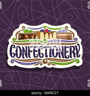 Vector logo for Confectionery - Stock Photo