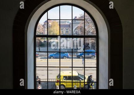 Bulgaria, Sofia, view from the window - Stock Photo