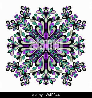 Mandala. Round Ornament Pattern. Vintage decorative elements. vector illustration - Stock Photo