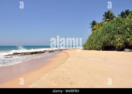 Sri Lanka, Bentota, beach - Stock Photo