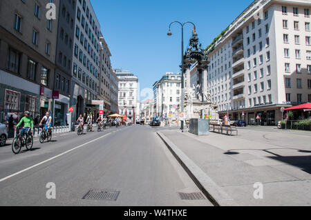 Around Vienna - Hoher Markt - Stock Photo