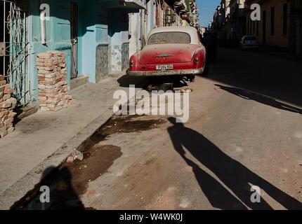 Street of Havana city
