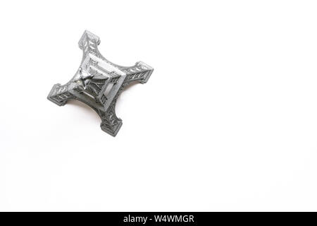 Abstract angle of Eiffel tower souvenir. Please credit: Phillip Roberts - Stock Photo