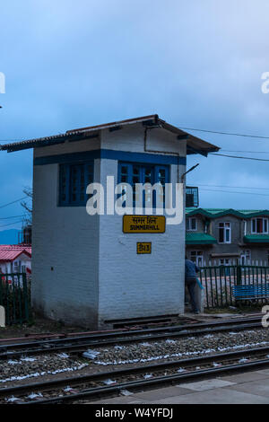 Indian railway watch tower - Stock Photo