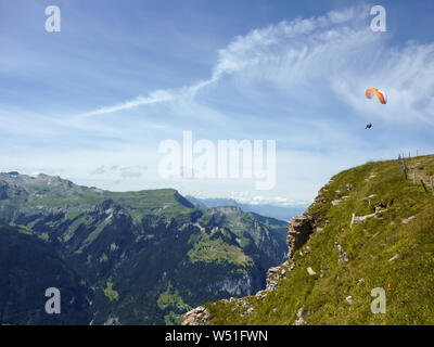 Swiss Alps, Switzerland - Stock Photo