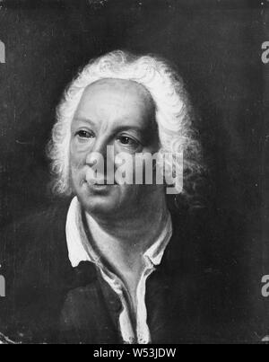 Jean Babtiste Rousseau, Jean Baptiste Rousseau, 1671-1741, painting, Oil on canvas, Height, 46 cm (18.1 inches), Width, 37 cm (14.5 inches) - Stock Photo