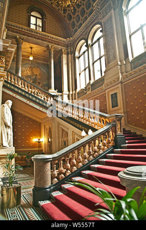 Grand Staircase, Foreign Office, London - Stock Photo