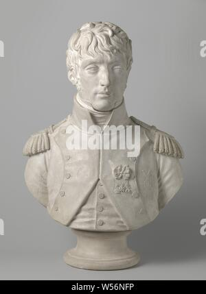 Bust of Louis Napoleon, King of Holland, King of Holland., Louis Napoleon Bonaparte, Pierre Cartellier, 1806, gypsum, h 74 cm × w 51 cm × d 30 cm - Stock Photo