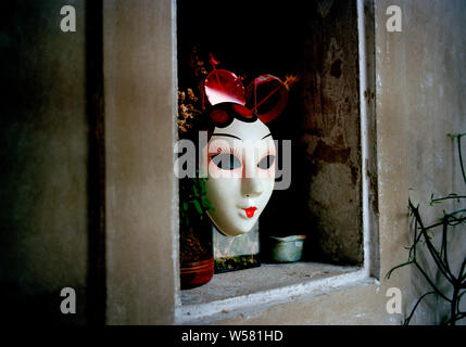 Lhong 1919 Chinese courtyard architecture in Bangkok in Thailand in Southeast Asia Far East. Created by the Wang Lee family. Japanese - Stock Photo