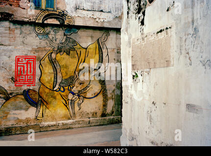 Lhong 1919 Chinese courtyard architecture in Bangkok in Thailand in Southeast Asia Far East. Created by the Wang Lee family. Oriental Japanese Japan - Stock Photo