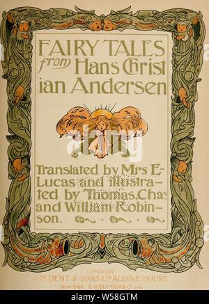 Fairy tales from Hans Christian Andersen : Andersen, H. C. (Hans Christian), 1805-1875