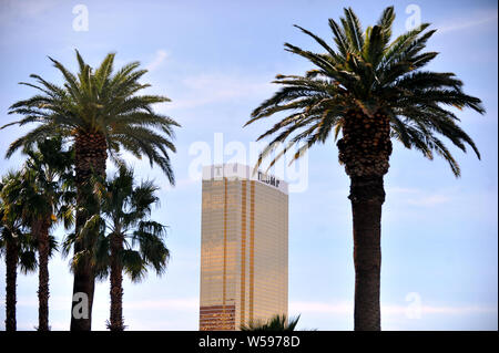 Trump International Hotel, Las Vegas, Nevada owned by Donald Trump the President of America - Stock Photo