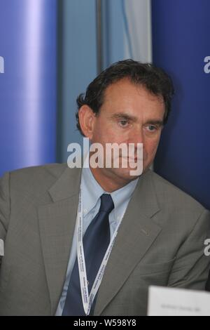 Swansea, Wales, UK. 20th September 2007. University of Wales' Professor Mark Clement, who was Dean of Management school until suspended on July 2019. Credit: Alamy - Stock Photo