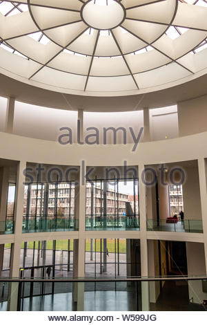 The rotunda of the modern art museum Pinakothek der Moderne, Munich, Germany - Stock Photo