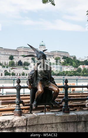 Around Budapest - On the banks of the River Danube - Stock Photo