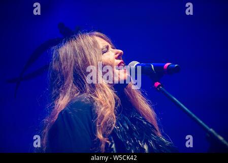 Nada performed in Treviso last 24.7.2019 - Stock Photo