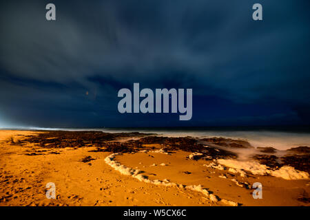 Bunbury Beach Western Australia - Stock Photo