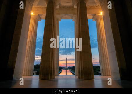 Sunrise view at Washington D.C.