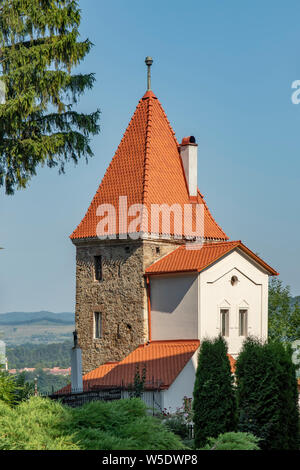 The Ropemaker's Tower, Old Sighisoara, Romania