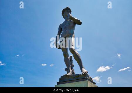 Buffalo New York - Replica of Michelangelos David   Flickr