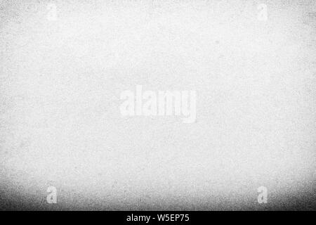 Full frame old white paper texture background with vignette for design backdrop or overlay design - Stock Photo