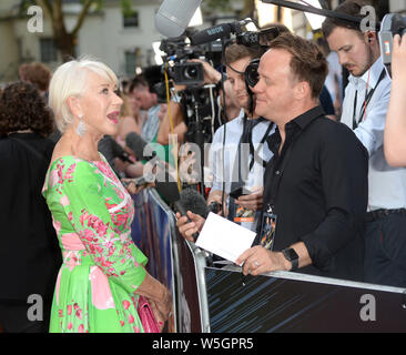 Photo Must Be Credited ©Alpha Press 078237 23/07/2019 Helen Mirren at the Fast and Furious Hobbs and Shaw Special Screening held at The Curzon Mayfair in London - Stock Photo
