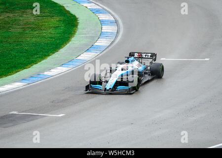 Formula 1 German GP in Hockenheim 28 July 2019: Rokit Williams Racing, George Russell - Stock Photo