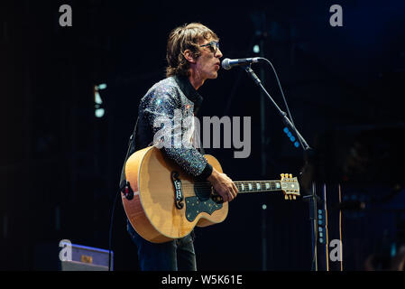 Liam Gallagher at Finsbury Park, London on Friday, 29th June 2018 - Stock Photo