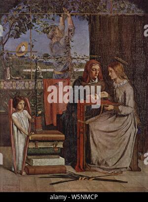 Dante Gabriel Rossetti 004. - Stock Photo